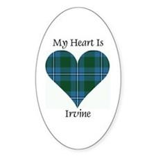 Heart - Irvine Decal