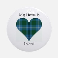 Heart - Irvine Ornament (Round)