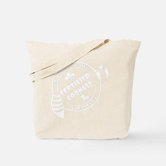 louisiana coonass white Tote Bag