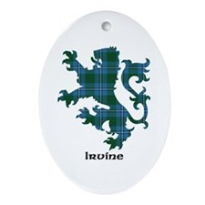 Lion - Irvine Ornament (Oval)