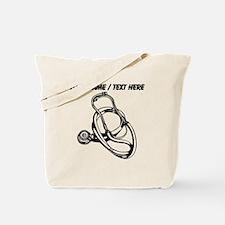 Custom Stethoscope Tote Bag