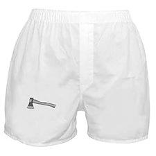 Grey Ax Boxer Shorts