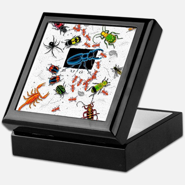 Cute Bugs Keepsake Box