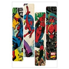 Spiderman Comic Panel Wall Art
