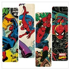 Spiderman Comic Panel Wall Art Poster