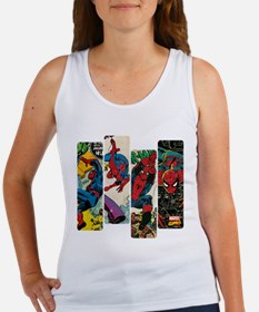 Spiderman Comic Panel Women's Tank Top