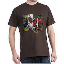 Spiderman Comic Panel T-Shirt