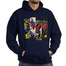 Spiderman Comic Panel Hoody