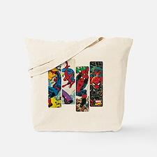 Spiderman Comic Panel Tote Bag