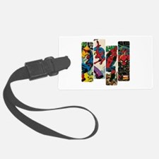 Spiderman Comic Panel Luggage Tag