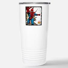 Spidey Retro Grunge Travel Mug