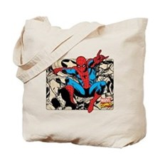 Spidey Retro Tote Bag