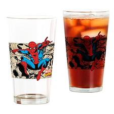 Spidey Retro Drinking Glass