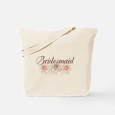 Brown Bridesmaid Tote Bag