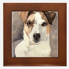 Jack Russell Terrier Stuff! Framed Tile