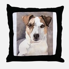 Jack Russell Terrier Stuff! Throw Pillow