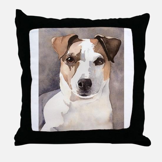 Jack Russell Terrier Stuff! Throw Pillow