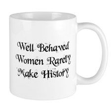 Well Behaved Small Mugs