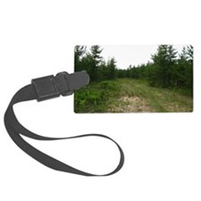 michigan U.P. forrest Luggage Tag
