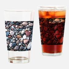 wet rocks in michigan Drinking Glass