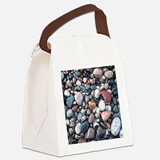 wet rocks in michigan Canvas Lunch Bag