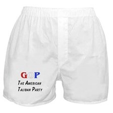 GOP American Taliban Boxer Shorts