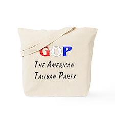 GOP American Taliban Tote Bag