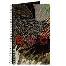 Vintage Rooster French Collage Journal