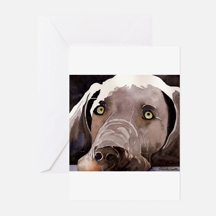 Weimaraner Greeting Cards (Pk of 10)