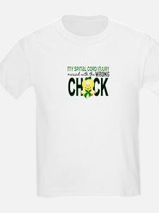Spinal Cord Injury WrongChick1 T-Shirt