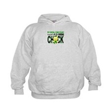 Spinal Cord Injury WrongChick1 Hoodie