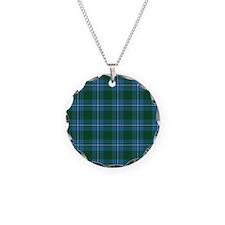 Tartan - Irvine Necklace Circle Charm