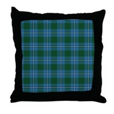 Tartan - Irvine Throw Pillow