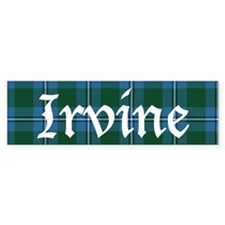 Tartan - Irvine Bumper Sticker