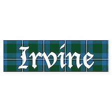 Tartan - Irvine Bumper Stickers