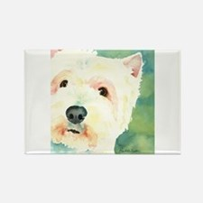 Westie Rectangle Magnet (100 pack)