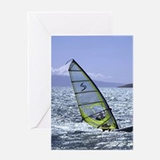Cool Wind surfing Greeting Card