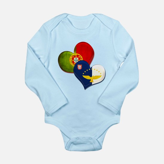 Portugal and Azores he Long Sleeve Infant Bodysuit