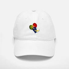 Portugal and Azores hearts Baseball Baseball Cap
