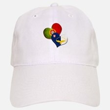 Portugal and Azores hearts Cap
