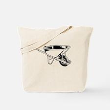 Wheelbarrow Tote Bag
