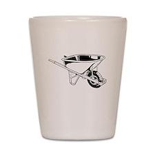 Wheelbarrow Shot Glass
