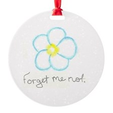 Forget me not. Ornament