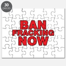 BAN FRACKING NOW Puzzle
