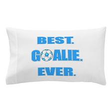 Best. Goalie. Ever. Blue Pillow Case