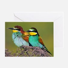 European Bee-eaters Greeting Card