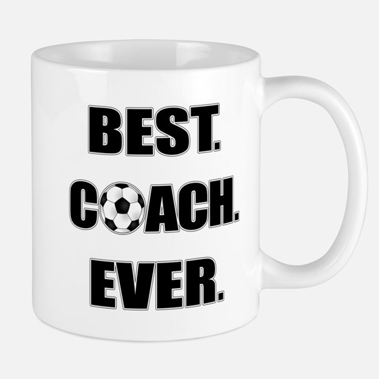 Best. Coach. Ever. Black Mug