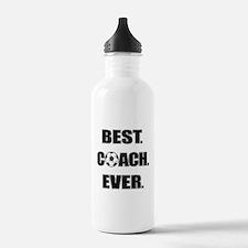 Best. Coach. Ever. Bla Water Bottle