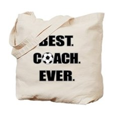 Best. Coach. Ever. Black Tote Bag