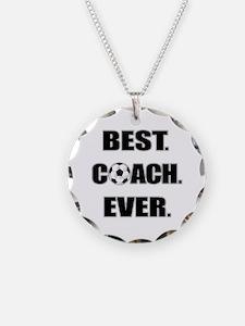 Best. Coach. Ever. Black Necklace